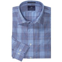 New England Shirt Company Brayton Plaid Shirt - Long Sleeve (For Men) in Blue - Closeouts