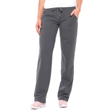 New York Laundry Brushed French Terry Pants (For Women)