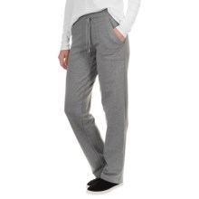New York Laundry French Terry Pants - Drawstring Waist (For Women) in Medium Grey Heather - Closeouts