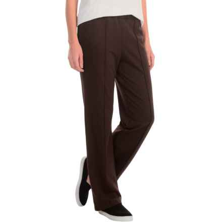 New York Laundry French Terry Pants (For Women) in Warm Fudge - Closeouts