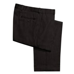 Newbridge by Ballin Heather Pants - Flat Front (For Men) in Black