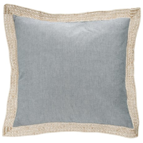 Newport Feather Decorative Pillow