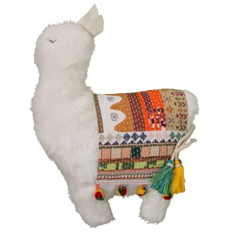 "Newport Llama Throw Pillow - 15x17"" in Multi"