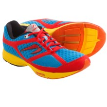 Newton Gravity Neutral Trainer Running Shoes - Recycled Materials (For Men) in Blue/Red/Yellow - Closeouts