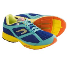 Newton Motion Stability Trainer Running Shoes (For Women) in Navy/Mint/Yellow - Closeouts