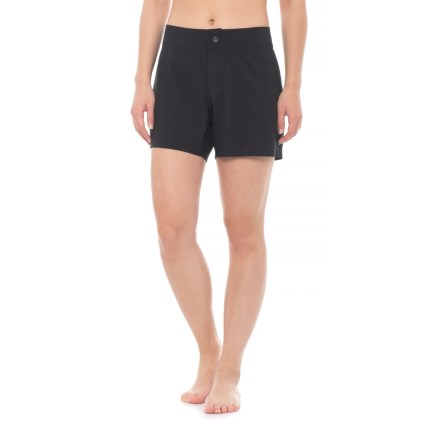 "3ac0f9acb6 Next Good Karma Boardshorts - 5"" (For Women) in Black - Closeouts"