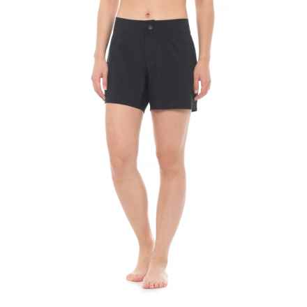 "Next Good Karma Boardshorts - 5"" (For Women) in Black - Closeouts"