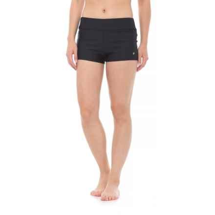Next Good Karma Jump Start Shorts Bikini Bottoms (For Women) in Black - Closeouts