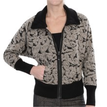 Nic+Zoe Lacy Shadows Jacket - Wool Blend (For Women) in Wicker - Closeouts