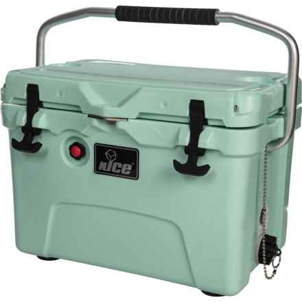 nICE Cooler Chest - 20 qt. in Seafoam Green