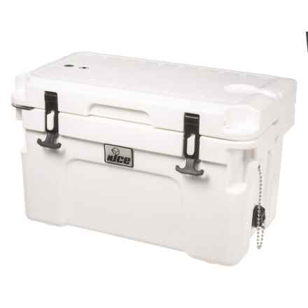 nICE Tumblers Emblem Heavy-Duty Cooler Chest - 20L in White - Closeouts