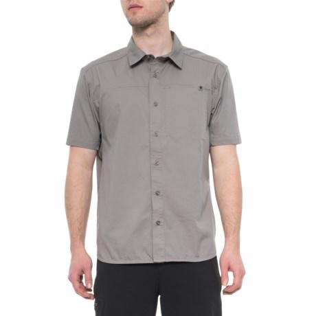 Nickel Stretch Operator Shirt - Short Sleeve (For Men)