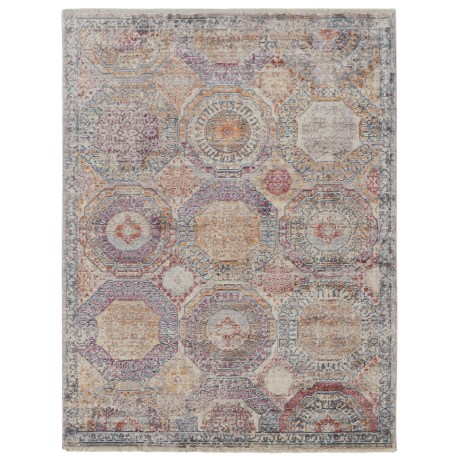 "Nicole Miller Artisan Circles Collection Accent Rug - 3'11""x5'4"" in Multi"