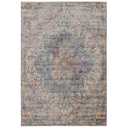"""Nicole Miller Artisan Collection Area Rug - 5'3""""x7'9"""" in Gray/Blue - Closeouts"""