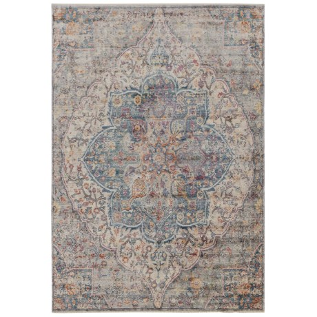 "Nicole Miller Artisan Collection Area Rug - 5'3""x7'9"" in Gray/Blue"