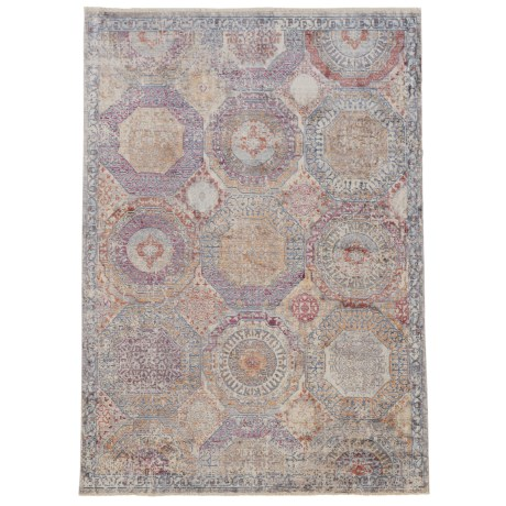 """Nicole Miller Artisan Shapes Collection Area Rug - 5'3""""x7'9"""" in Multi"""