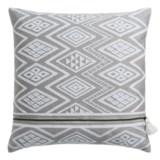"Nicole Miller Atelier Geo-Pattern Decor Pillow - 20x20"", Feathers"