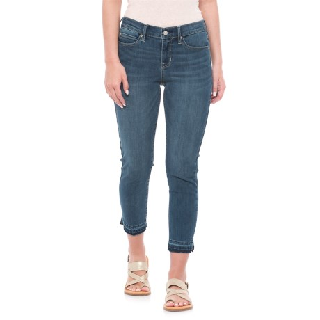 Nicole Miller Carnegie Wash Skinny Jeans - Mid Rise (For Women) in Medium Blue