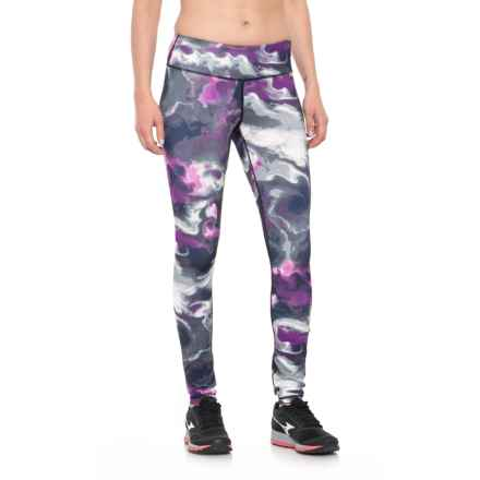 Nicole Miller Coastal Printed Leggings (For Women) in Black - Closeouts