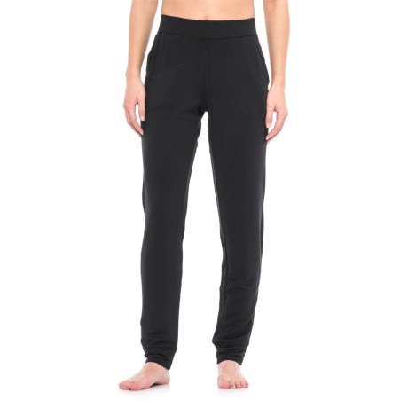 Nicole Miller Drapey French Terry Joggers (For Women) in Black