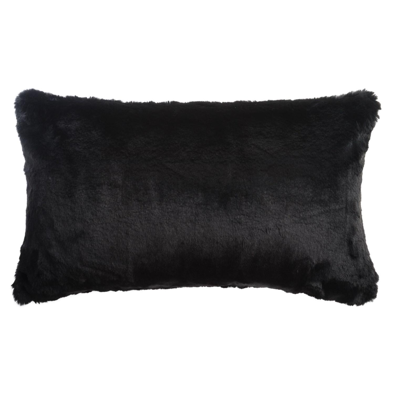 "Nicole Miller Faux-Fur Bobby Accent Pillow - 20x20"" - Save 20%"