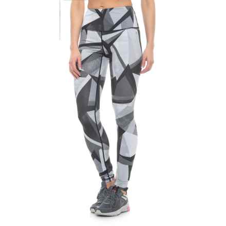 Nicole Miller Geo Print Leggings (For Women) in Black - Closeouts