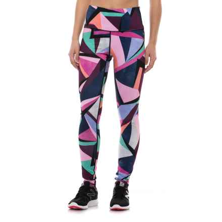 Nicole Miller Geo Print Leggings (For Women) in Multi - Closeouts