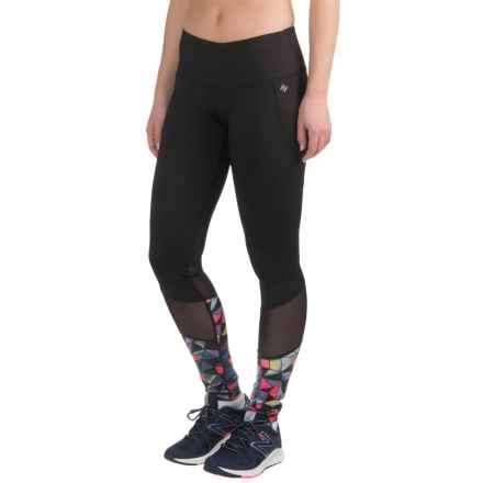 Nicole Miller Geowash Print Leggings (For Women) in Dahlia - Closeouts