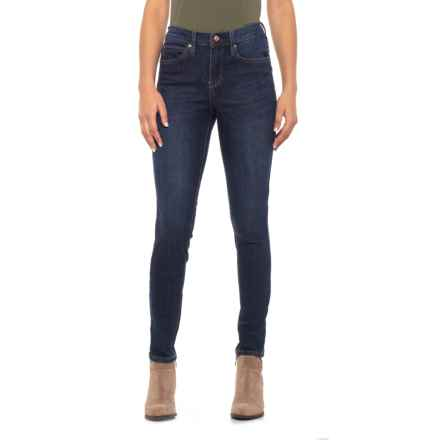 Nicole Miller High-Rise Skinny Jeans - Jessup Wash (For Women) in Jessup Wash - Closeouts