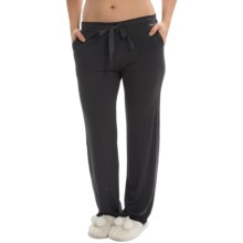 Nicole Miller Lightweight Lounge Pants (For Women) in Black - Closeouts