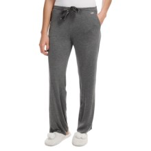 Nicole Miller Lightweight Lounge Pants (For Women) in Charcoal Heather Grey - Closeouts