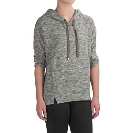 Nicole Miller New York Active Pullover Hoodie (For Women) in Grey Heather - Closeouts