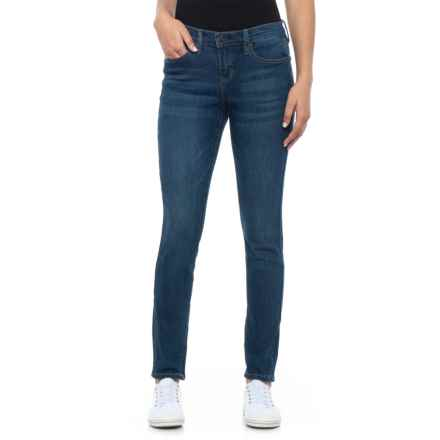 Nicole Miller Skinny Millstone Wash Denim Jeans - Mid Rise (For Women) in Millstone Wash - Closeouts