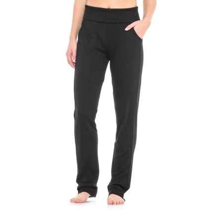 Nicole Miller Softhand Lounge Pants (For Women) in Black - Closeouts