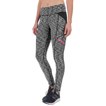 Nicole Miller Space-Dyed Leggings (For Women) in Black - Closeouts