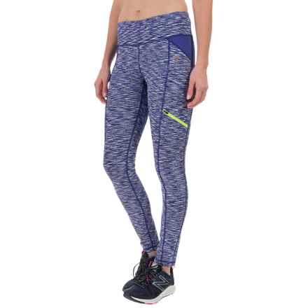 Nicole Miller Space-Dyed Leggings (For Women) in Spectrum Blue - Closeouts