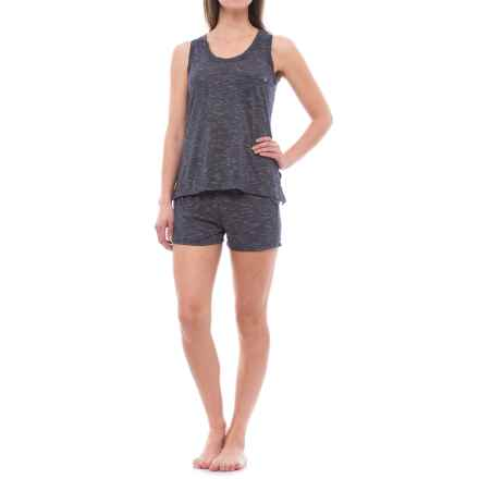 Nicole Miller Sporty Pajamas - Sleeveless (For Women) in Stellar Night - Closeouts