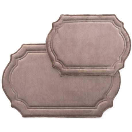 in bedbathhome stripe gray rug shannon altmeyer bath bathroom mohawk s grey set