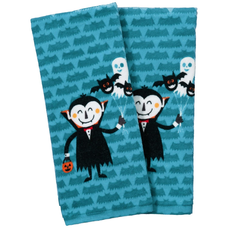 "Nicole Miller Vampire Kitchen Towels - Set of 2, 18x28"" - Save 40%"