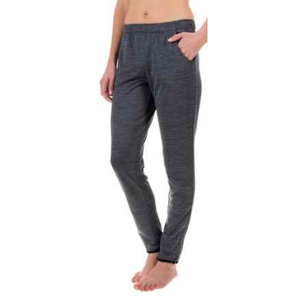 Nicole Miller Zippy Track Pants (For Women) in Ebony Heather - Closeouts