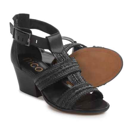 Nicole Tessie Sandals (For Women) in Black - Closeouts