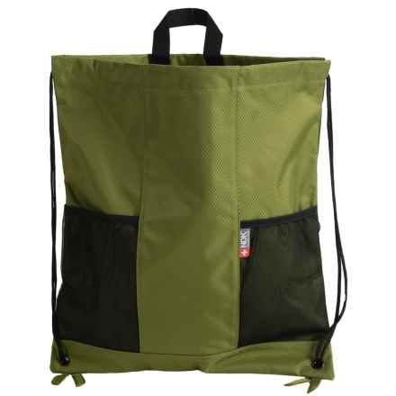 Nidecker Competitor Drawstring Backpack in Green - Closeouts