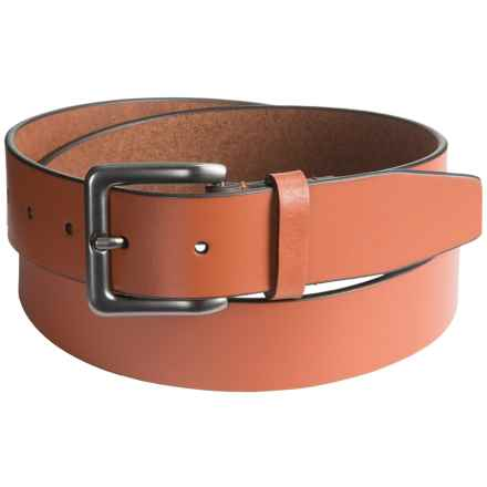 Nidecker Cosmopolitan Simple Belt - Leather (For Men) in Terra - Closeouts