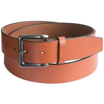 Nidecker Cosmopolitan Simple Belt - Leather (For Men) in Terra - Closeouts