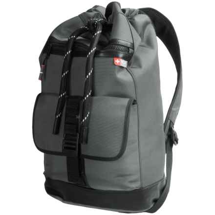 Nidecker Design NDK Cinched Backpack in Grey - Closeouts