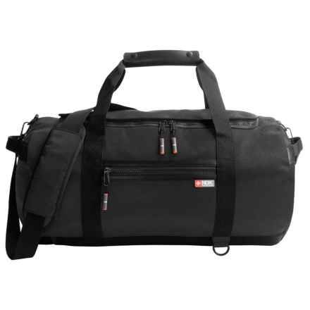Nidecker Design NDK Convertible Duffel Bag in Black - Closeouts