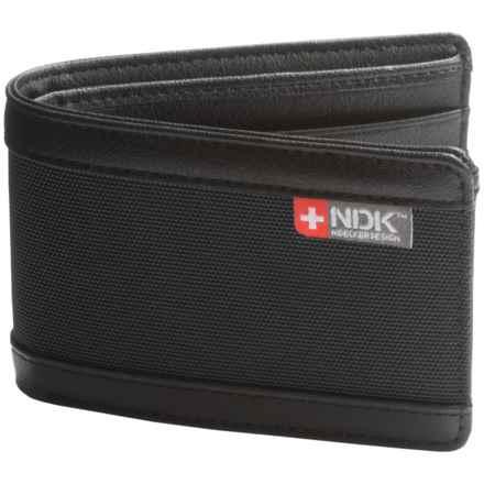Nidecker RFID Slimfold Bi-Fold Wallet - ID Window in Coal - Closeouts