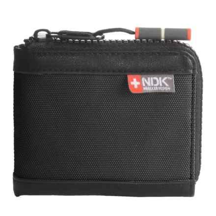 Nidecker RFID Zip-Around Wallet in Shale - Closeouts