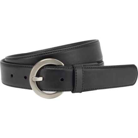 Nike G-Flex Leather Belt (For Women) in Black - Closeouts