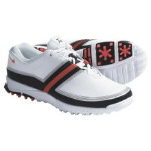 Nike Golf Air Brassie Golf Shoes (For Women) in White/Alarming Black - Closeouts